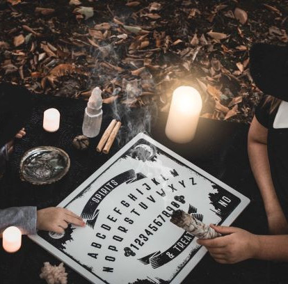 a ouija board -photo by alexia-rodriquez-unsplash